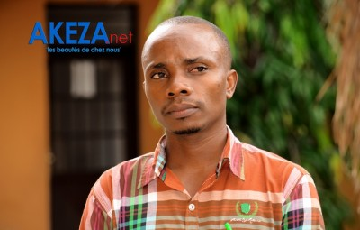 Jean Claude Nduwimana, the the mastermind behind santé priorite ©Akeza.net