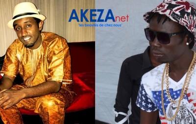Yoya and SAT B , burundian music icons © Akeza.net
