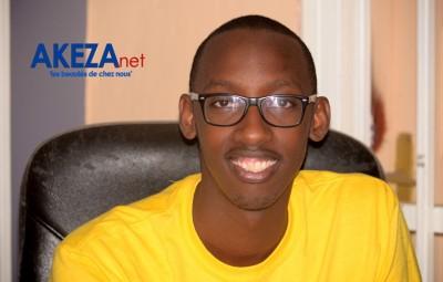 Billy CAMIRIRWA , a young burundian entrepreneur ©Akeza.net