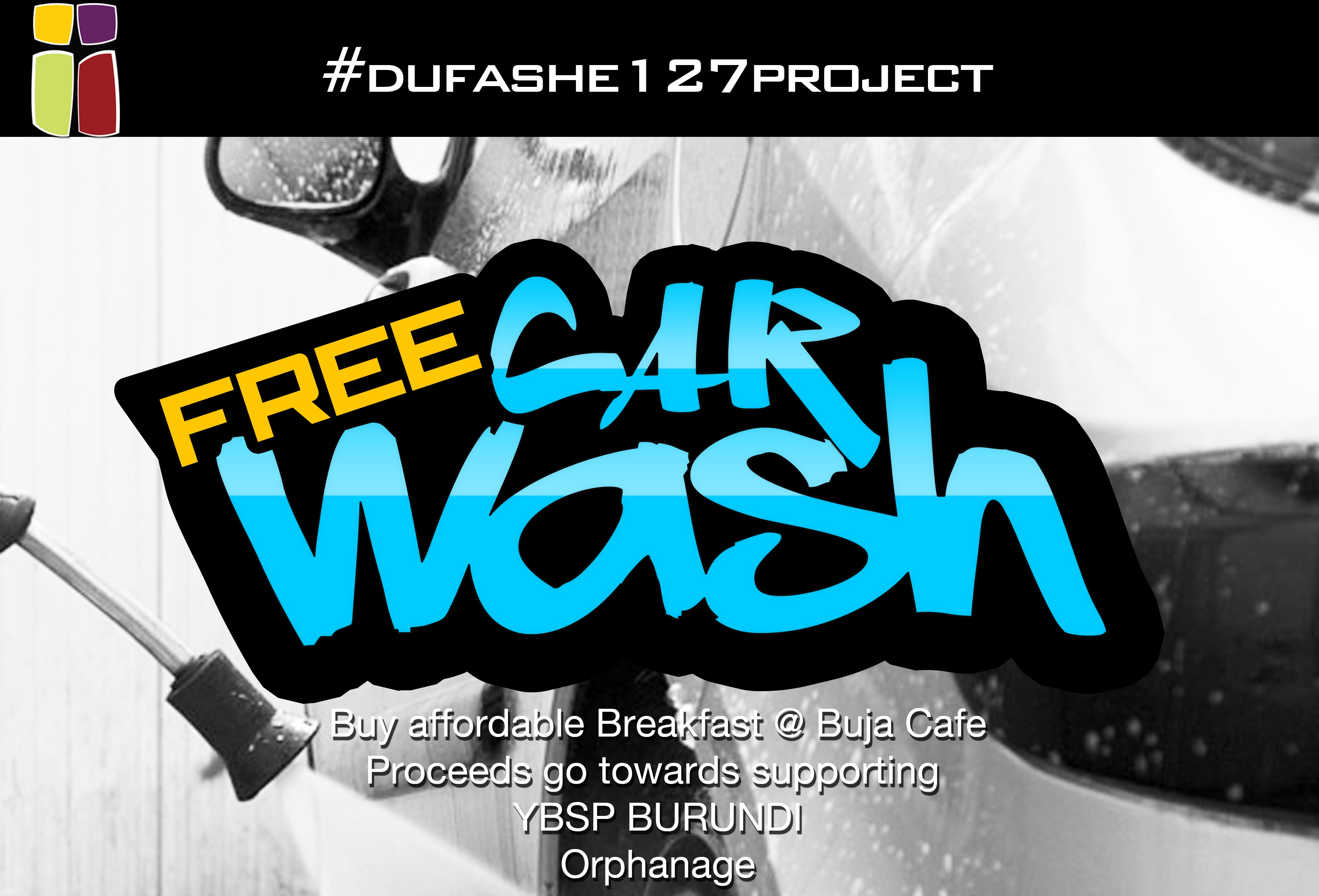Event: Free carwash at Buja café to support YBSP orphanage