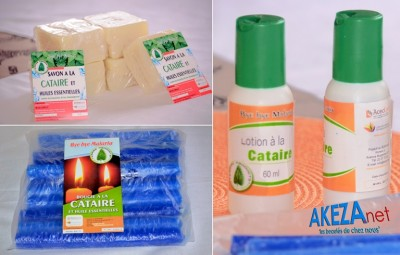 Daily use natural and local products to fight malaria © Akeza.net