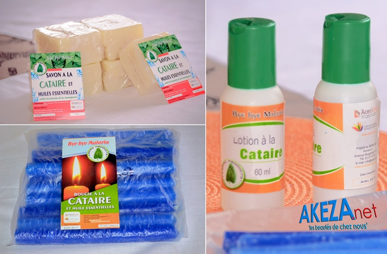 Daily use natural and local products to fight against malaria