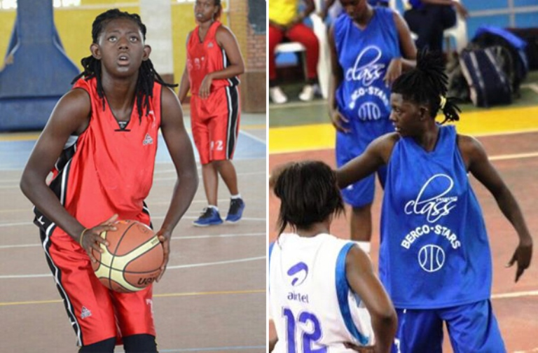 Florence Sifa Kalume , a hit on basketball courts