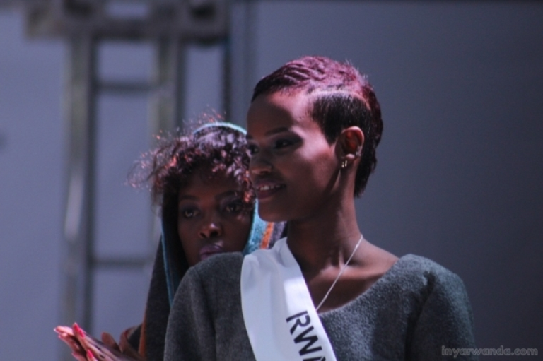 Model Lynca Amanda Kaneza , crowned Rwanda's Super Model 2015 ©Inyarwanda.com