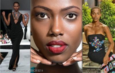 Ange Nicole Mahoro , burundian model