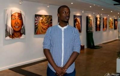 Nelson NIYAKIRE , a burundian painter