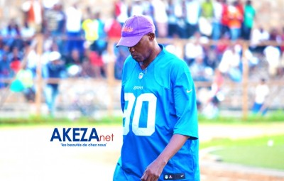 Coach Gilbert Kanyenkore known as Yaoundé ©Akeza.net