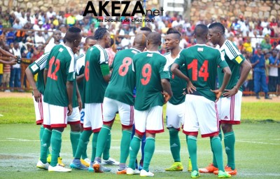 Burundi national team players ©Akeza.net