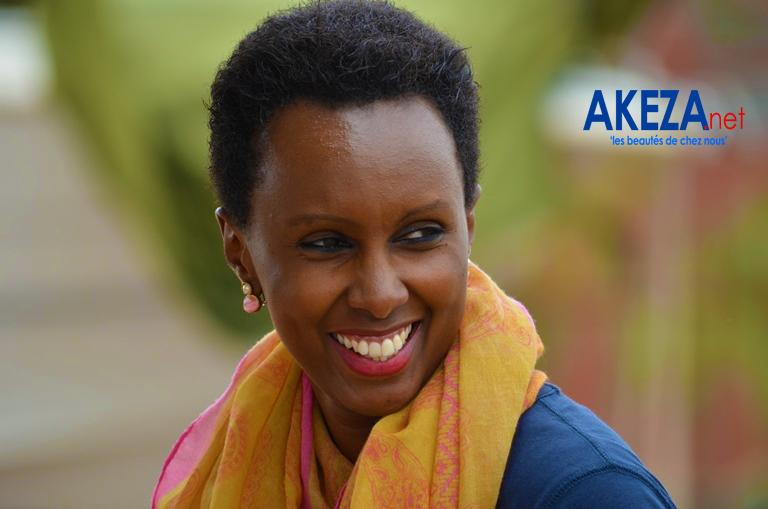 Carmen NIGIGIRA , main advocate for the Akilah Burundi Campus ©Akeza.net