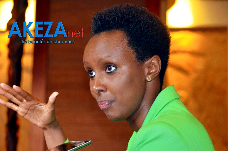 Carmen NIBIGIRA, coordinator for the East African Tourism Platform-EATP ©Akeza.net
