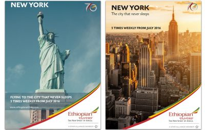 Ethiopian to Launch Flights to New York-Newark