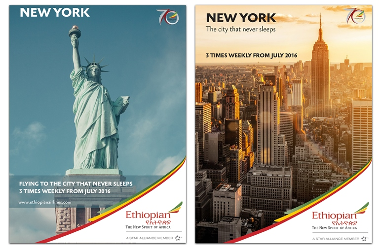 Ethiopian Airlines to Launch Flights to New York-Newark