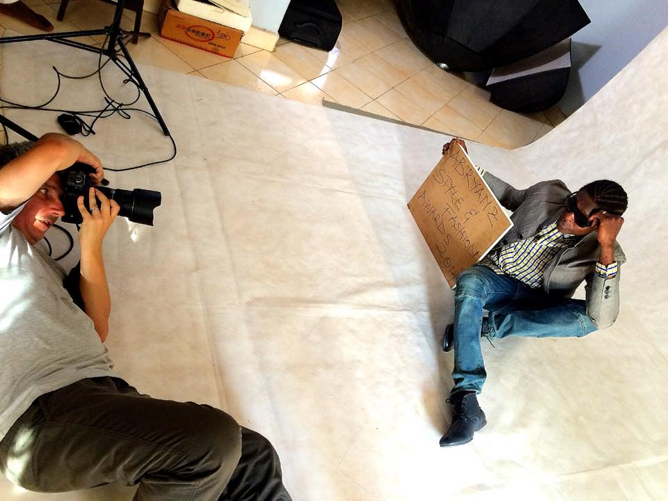 Shooting with Singer José Chameleone