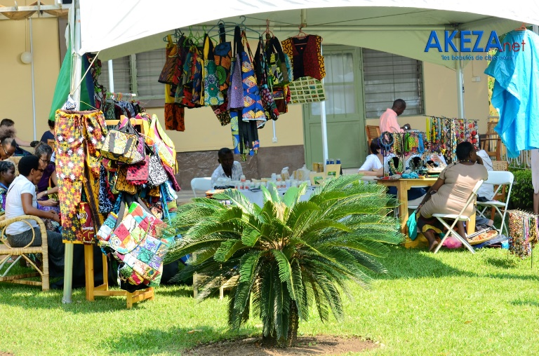The Craft Fair at Amahoro Café was a highly successful event