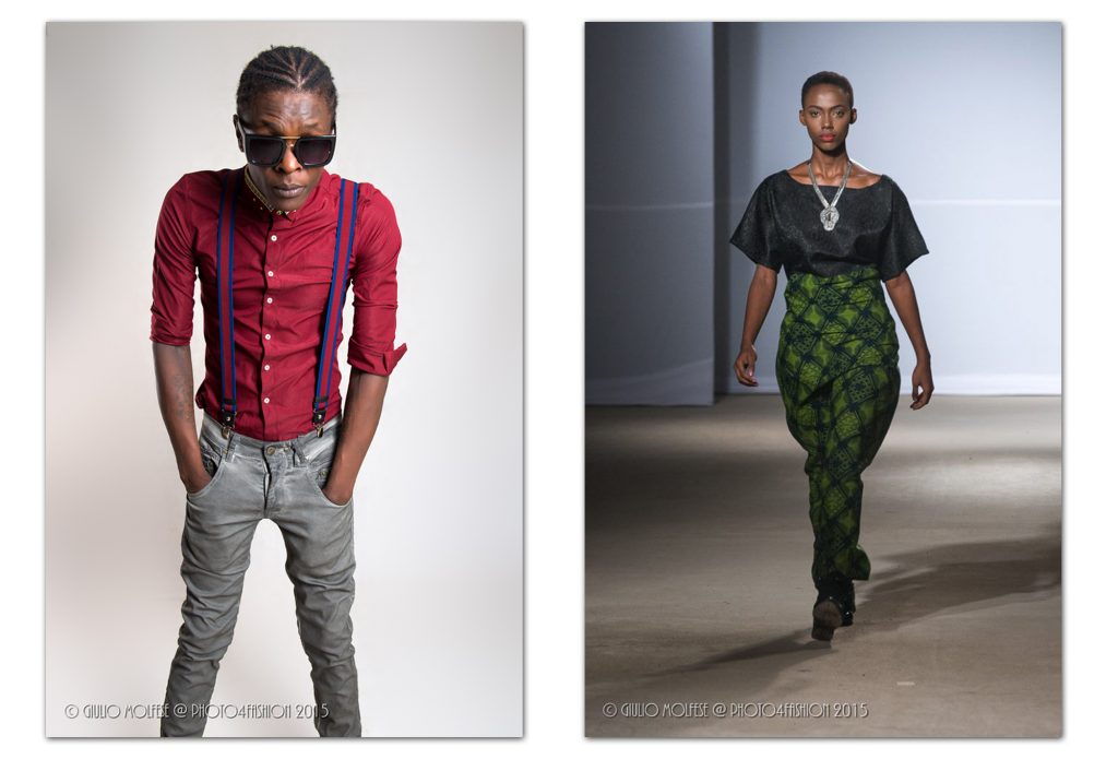 Ugandan popular singer Chameleone and Burundian top model Ange Nicole Mahoro