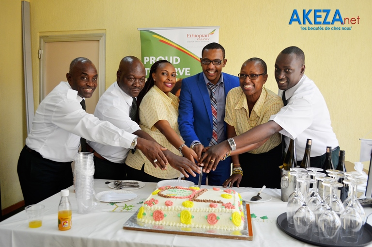 Ethiopian Airlines celebrates 70 years of service, 38 in Burundi