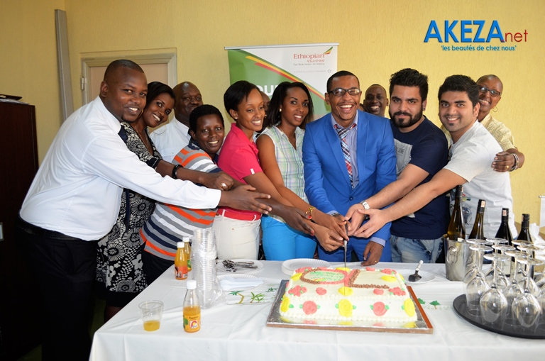 Team Ethiopian Airlines Burundi + travel agencies representatives ©Akeza.net