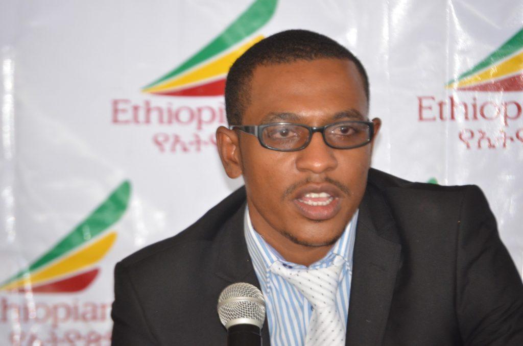 Kinfemichael Shegutie , Ethiopian Airlines Burundi Area Manager