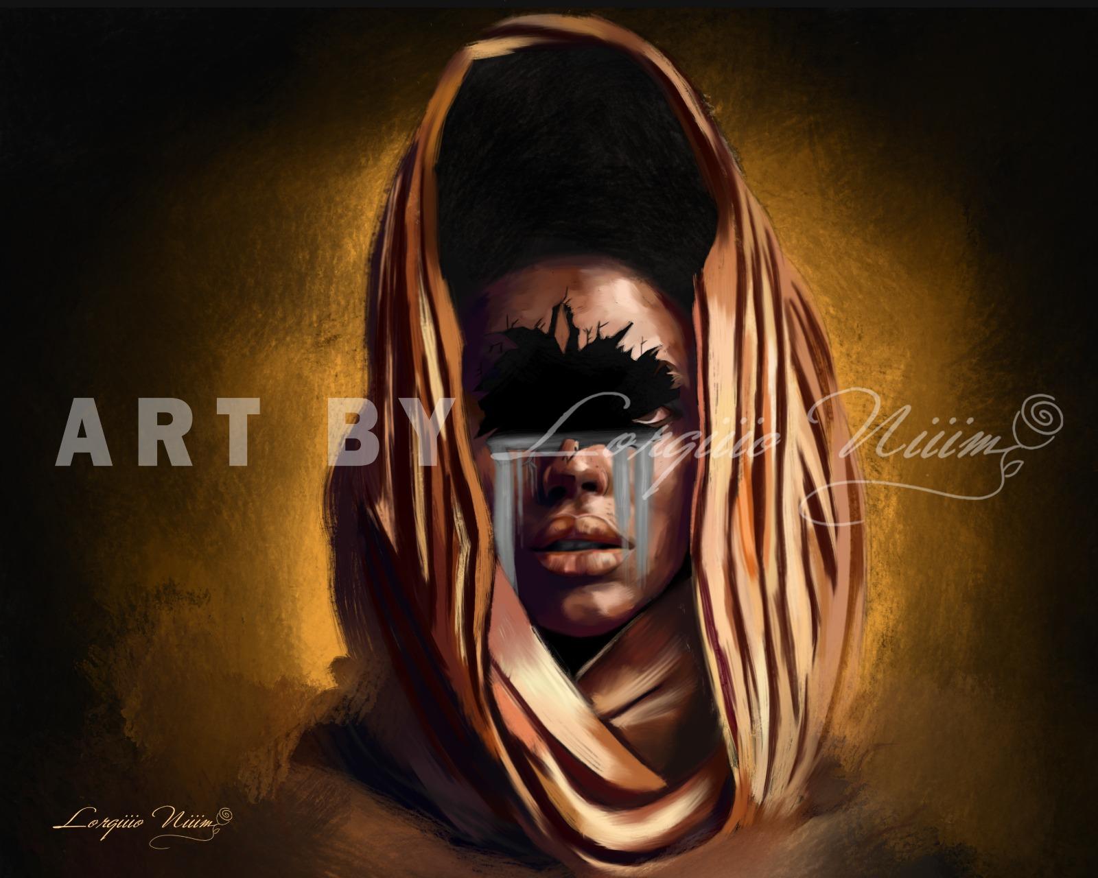 Burundians in the Diaspora: 23 years old Lorgio NIM, the self-taught digital painter tracing his way in Canada!