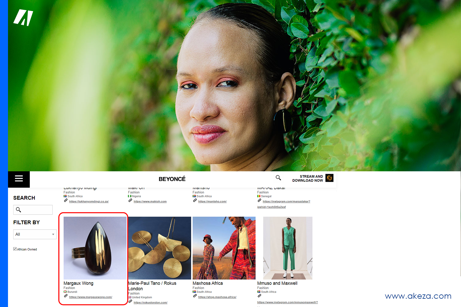 Margaux Wong reacts to her brand being featured on Beyonce's Website